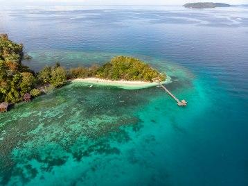 Bolilanga, Iles Toggian, Sulawesi, Indonésie