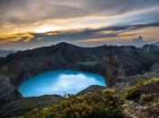Volcan Kelimutu, Flores, Indonésie