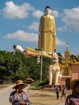 Boudhas géants Myanmar