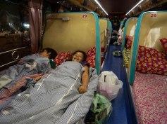 Bus allant de Pakse à Ventiane, Laos
