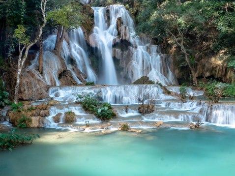 Cascade de Kuang Si, Laos