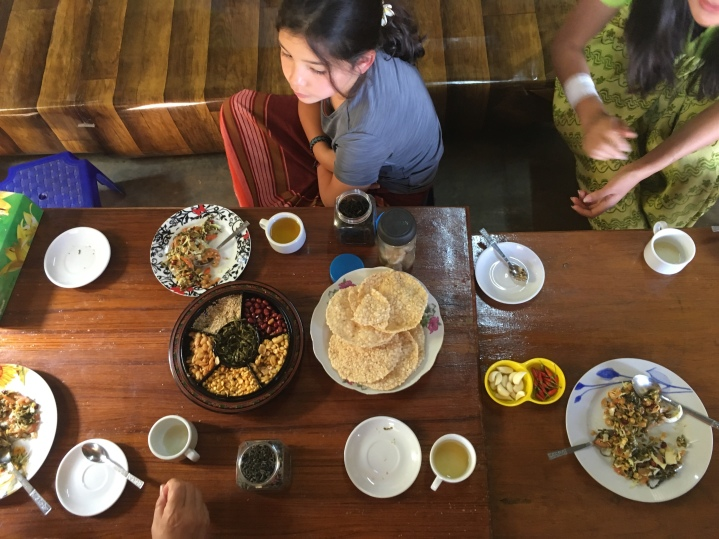 Salade de feuilles de thé, Myanmar