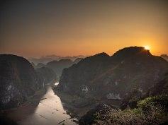 Tam Coc, baie d'Halong terrestre, Vietnam